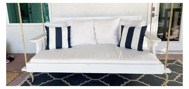 Classic White Cushions That Are Easy to Style and Easy to Clean