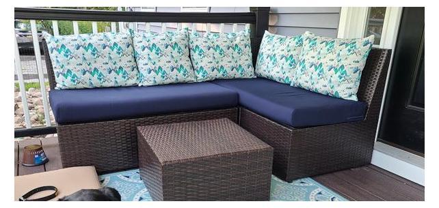 Sunbrella RAIN Cushions Make the Perfect Outdoor Seating