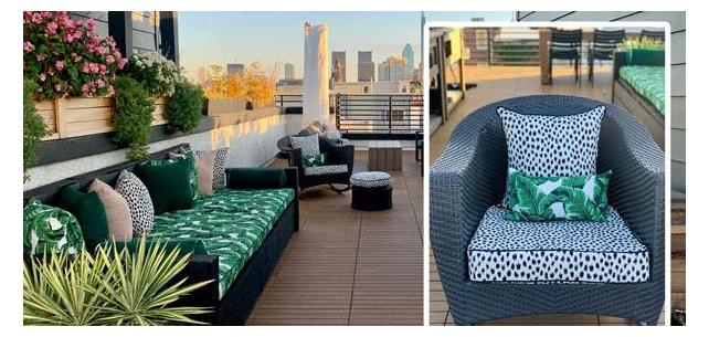Fusion Collection Turns City Rooftop Into Jungle Paradise