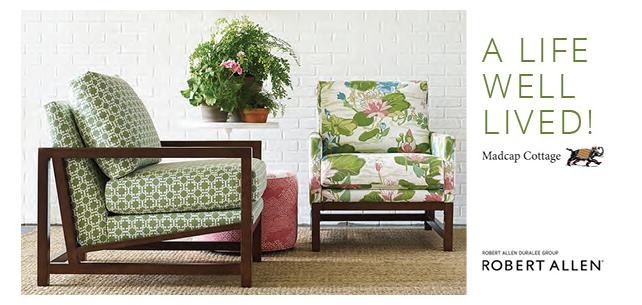 New Madcap Cottage Collection for Robert Allen Captures the Spirit of Gracious Living