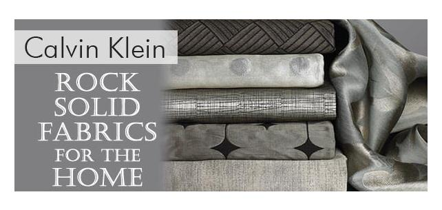 Calvin Klein Home II Quartzite Fabric Collections