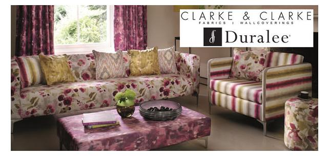 City-Pretty Florals and Blazer-Cut Wovens Define New Clarke and Clarke Fabrics