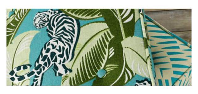 Robert Allen Sunbrella Fabric by Dwell Studio