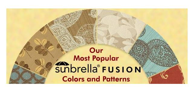 Our Top Sunbrella Fusion Fabric Patterns