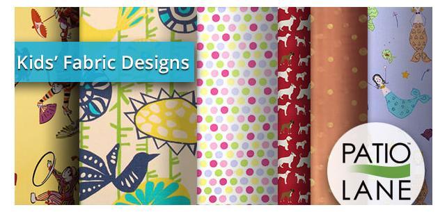 Fun, Festive Fabrics Your Children Will Love