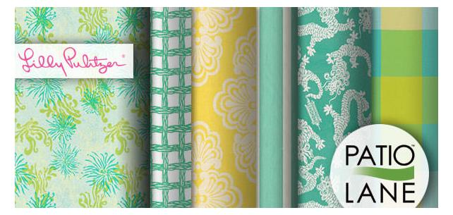 Lilly Pulitzer Home Décor Fabrics. Bright and Cheery in Lilly Style.