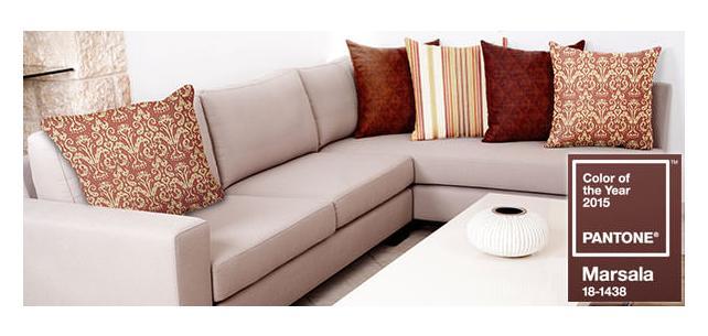 Pantone 2015 Decor Fabrics Capture the Flavor of Rustic Reds