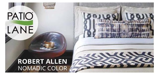 Rich, Earthy Tones and Textures Make Up Robert Allen Nomadic Color Fabric Collection