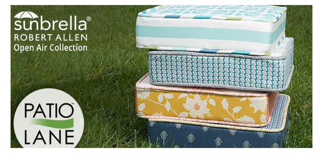 New Sunbrella Upholstery Fabrics: Robert Allen Open Air Collection