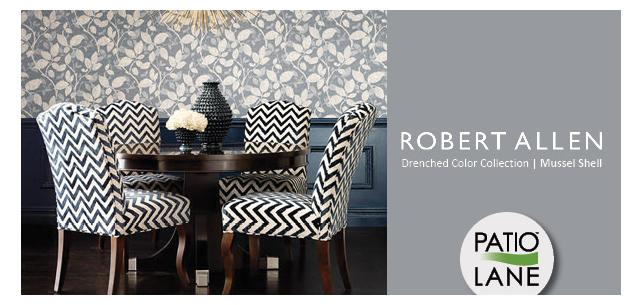 Immerse Yourself in the Drenched Color Fabric Collection from Robert Allen