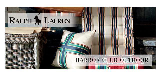 Ralph Lauren Sunbrella Harbor Club Fabric Collection