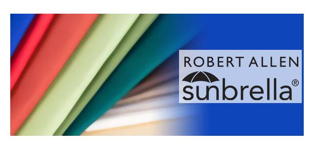 Color Your Cushions! Real Color by Robert Allen Sunbrella Fabric