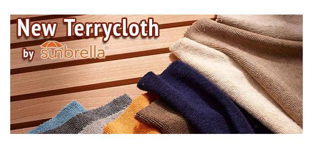 Sunbrella Terrycloth Fabric is Here!