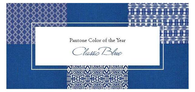 Celebrate Pantone's Color of the Year: Classic Blue