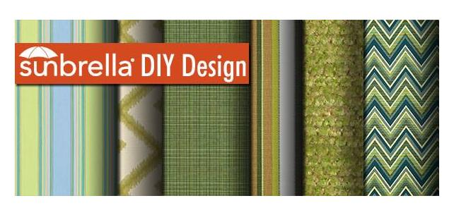 Sunbrella Fabric DIY Design – Bright New Green