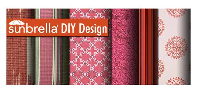 Sunbrella DIY Design – Celebrate! Pops of Pink Fabric