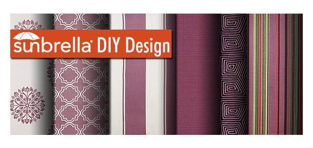 Sunbrella DIY Design - Bursting with Orchid Fabric!