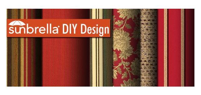 Sunbrella Fabric DIY Design - Red Hot Holidays