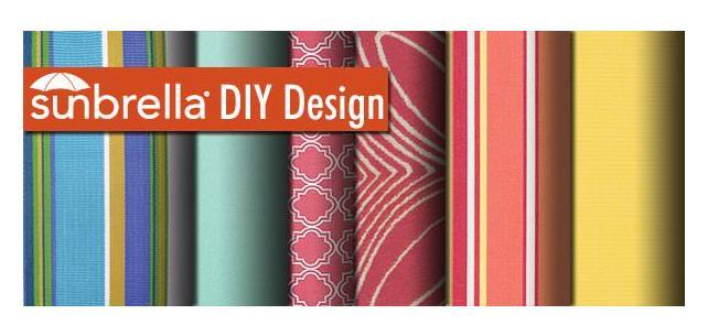 Sunbrella Fabric DIY Design – Blooming With Color