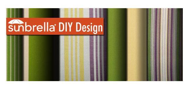 Sunbrella Fabric DIY Design - Celebrate Spring with Duralee