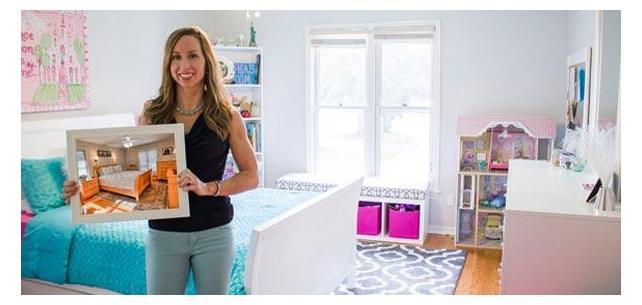 One Mom's Pinterest Hack: Pink/Aqua Tween Bedroom Makeover (With Sources!)