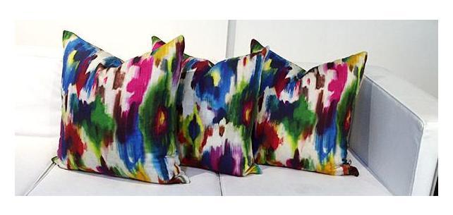 Kravet Design Delacroix Custom Pillows