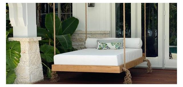 Get Patio Envy From This Large Custom Daybed