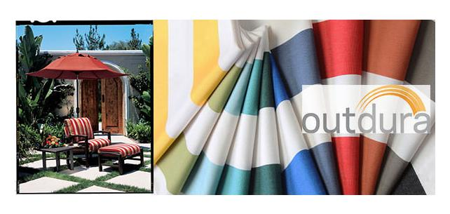 Sassy for Spring! New Outdura All Weather Fabrics