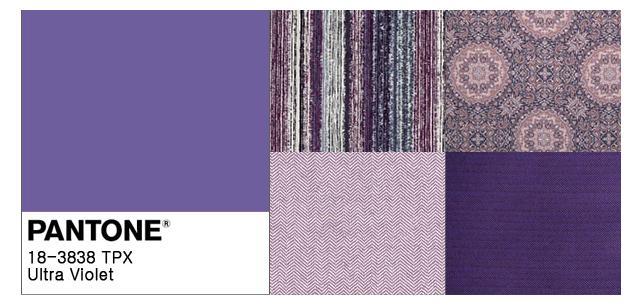 Pantone Goes Ultra Violet for 2018