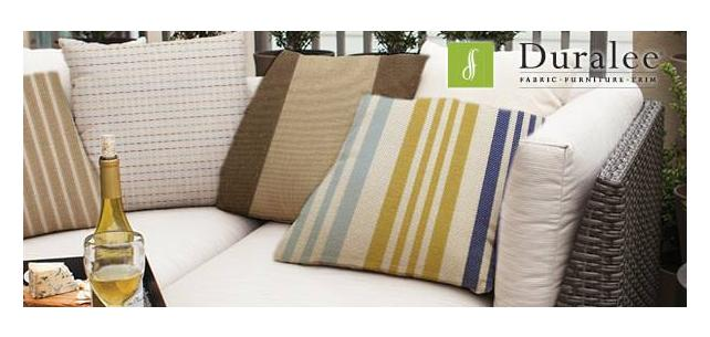 Sunbrella Pavilion Stripes and Solids by Duralee Fabric
