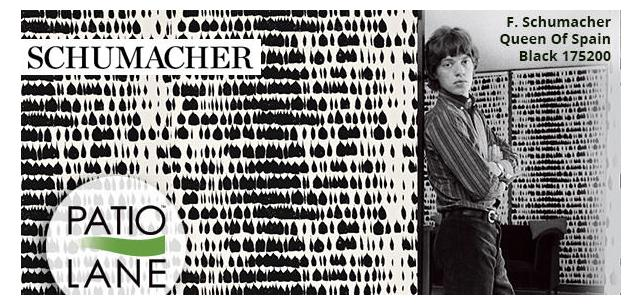 Schumacher Celebrates 125 Years of Swagger for Jagger, Rococo for Jackie O.