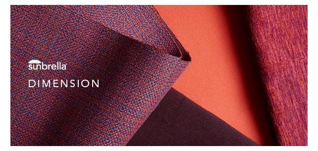 Dimension Collection - New Sunbrella Contemporary Patterns