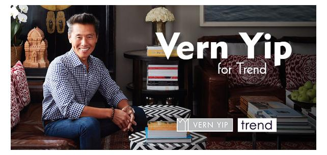 Make Yourself at Home With Vern Yip for Trend
