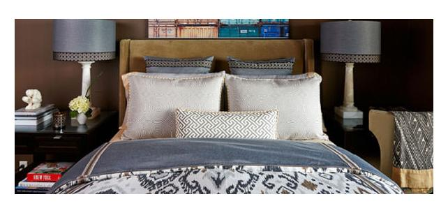 Vern Yip Decor Fabrics in Subtle Grey Tones