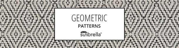 Sunbrella geometric