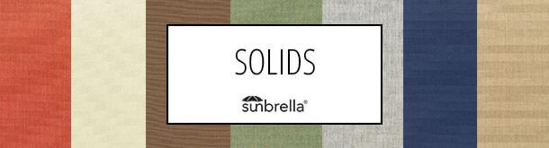 Sunbrella solids