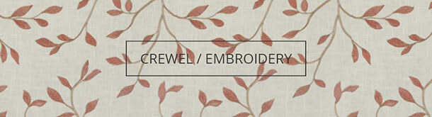 Shop By Fabric Type-Crewel/Embroidery