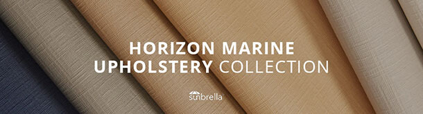Sunbrella Horizon Marine Upholstery Collection