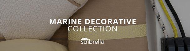 Sunbrella Marine Decorative Collection