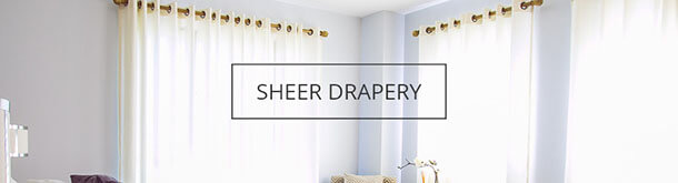 Shop By Fabric Type-Sheer Drapery