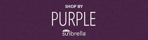 Purple Sunbrella