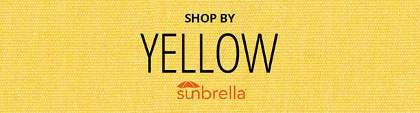 Yellow Sunbrella