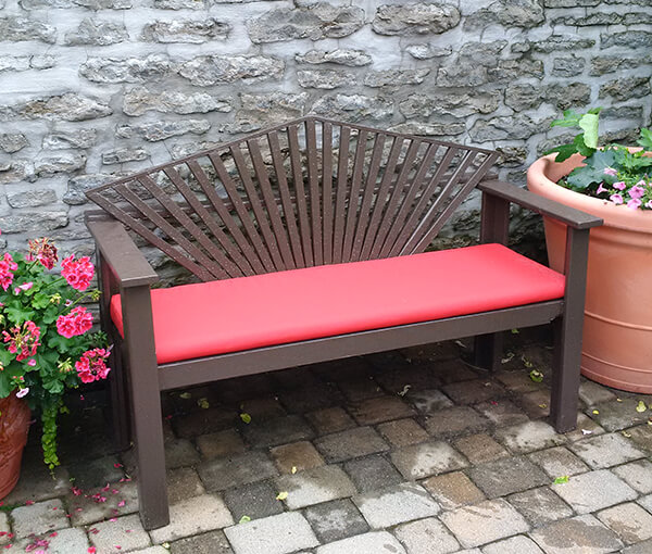 Custom Outdoor Bench Cushions