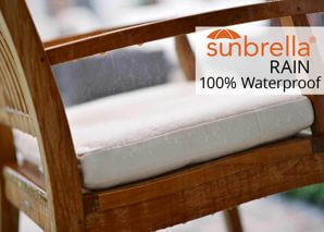 Waterproof Sunbrella Rain Fabric Cushions