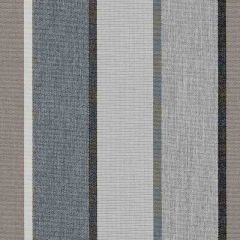 Sunbrella Canvas Quadri Grey SJA 3778 137 European Collection Upholstery Fabric