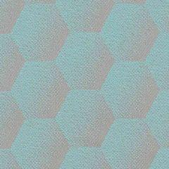 Sunbrella Hexagon Agua HEX J205 140 European Collection Upholstery Fabric
