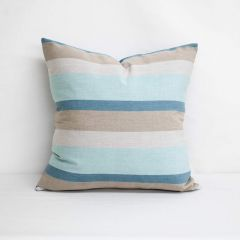 Indoor/Outdoor Sunbrella Gateway Mist - 22x22 Throw Pillow (quick ship)