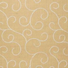 F-Schumacher Adhafera Scroll-Straw 5003541 Luxury Decor Wallpaper