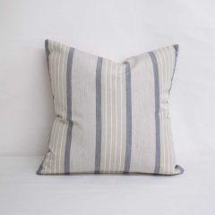 Indoor/Outdoor Sunbrella Cove Pebble - 18x18 Throw Pillow (quick ship)