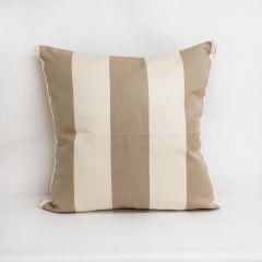 Indoor/Outdoor Sunbrella Regency Sand - 24x24 Throw Pillow (quick ship)